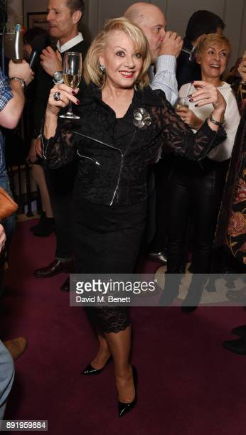 Elaine Paige attends the press night performance of 'Dick Whittington' at The London Palladium on December 13 2017 in London England
