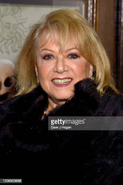 Elaine Paige attends the Upstart Crow press night at Gielgud Theatre on February 17 2020 in London England