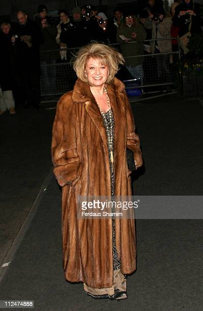 Elaine Paige during The Olivier Awards 2005 at London Hilton in London Great Britain