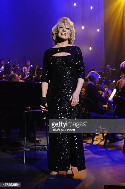 Elaine Paige performs Andrew Lloyd Webber's 'Memory' from 'Cats' at her 50th Anniversary Farewell Tour in advance of the show's West End transfer in...