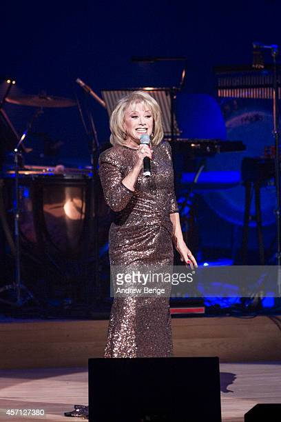Elaine Paige performs on stage at Bridgewater Hall on October 12 2014 in Manchester United Kingdom