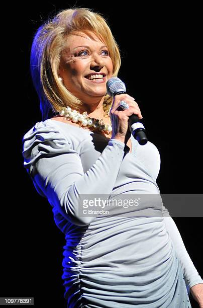 Elaine Paige performs on stage at the Royal Festival Hall on March 4 2011 in London England