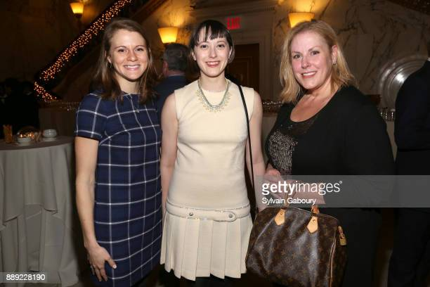 Elaine Rose Alexandra Port and Marybeth Ferrer attend The Institute of Classical Architecture Art Celebrates the Sixth Annual Stanford White Awards...