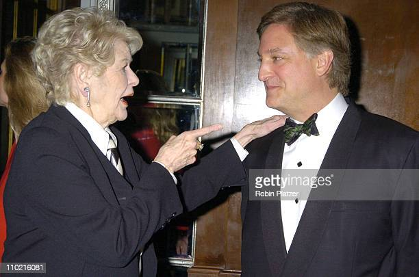 Elaine Stritch and Henry Cornell during The 30th Anniversary of The New Yorker For New York Awards Benefitting Citzens For NYC at The Waldorf Astoria...