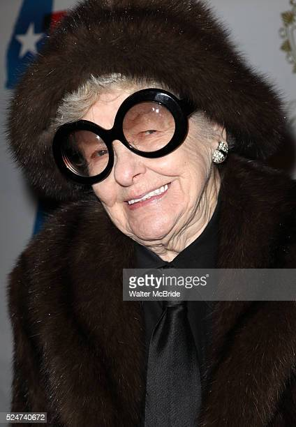 Elaine Stritch attending the Opening Night Performance of 'Ann' starring Holland Taylor at the Vivian Beaumont Theatre in New York City on 3/7/2013