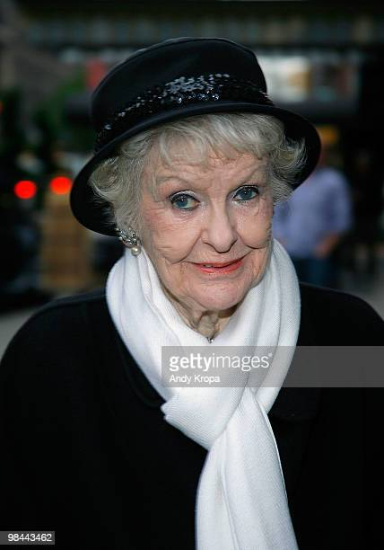 Elaine Stritch attends the 25th annual Bistro Awards at Gotham Comedy Club on April 13 2010 in New York City