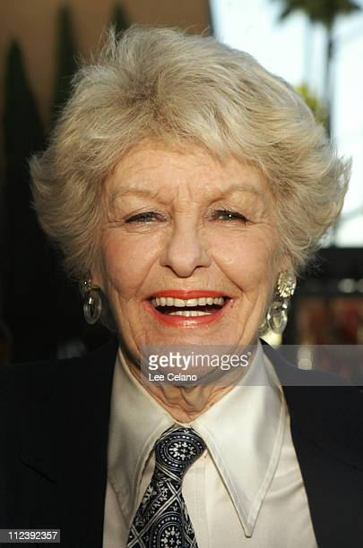 Elaine Stritch during 'Elaine Stritch At Liberty' Premiere Red Carpet at Samuel Goldwyn Theater in Beverly Hills California United States