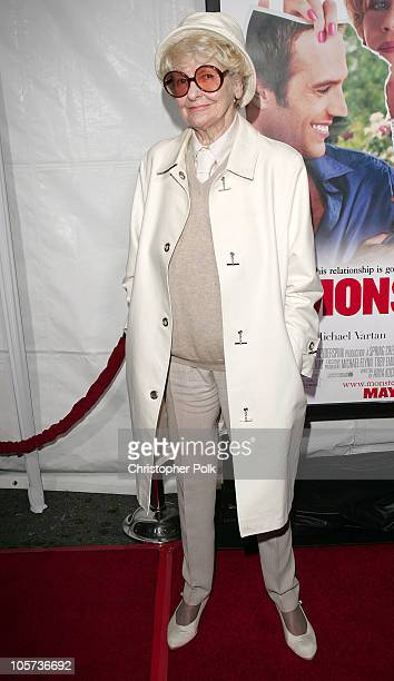 Elaine Stritch during MonsterInLaw Los Angeles Premiere at Mann National Theatre in Hollywood CA United States