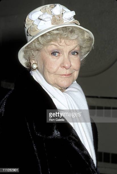 Elaine Stritch during Theatre Hall of Fame Class of 2000 Inductee Ceremony at The Gershwin Theater in New York City New York United States