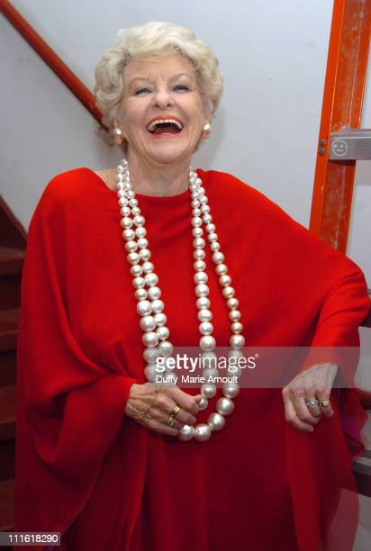 Elaine Stritch winner of Outstanding Cabaret Female Vocalist in a Major Engagement