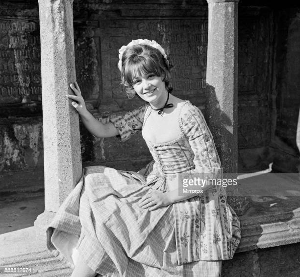 Elaine Taylor on the set of 'Lock Up Your Daughters' in Kilkenny Ireland 24th April 1968