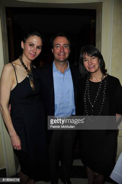 Elaine Thomas Joe Healey and Brooke Garber Naidich attend Dinner party to celebrate The Child Mind Institute's 2010 Adam Jeffrey Katz Memorial...