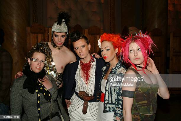 Elaine van Hoorn Xavier J Tre Raquel Reed and Dolly attend After Party to celebrate the opening of the new Pat Field Boutique at Capitale on April 2...