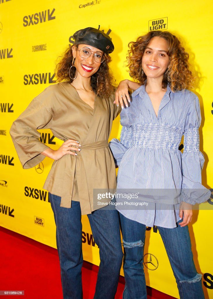 Elaine Welteroth and Cleo Wade attend TRIBE BUILDING 2.0: Engaging a Conscious Community Online & IRL during SXSW at Austin Convention Center on March 13, 2018 in Austin, Texas.