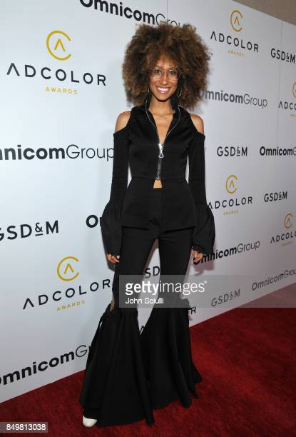 Elaine Welteroth attends the 11th Annual ADCOLOR Awards at Loews Hollywood Hotel on September 19 2017 in Hollywood California