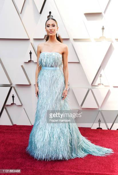 Elaine Welteroth attends the 91st Annual Academy Awards at Hollywood and Highland on February 24 2019 in Hollywood California