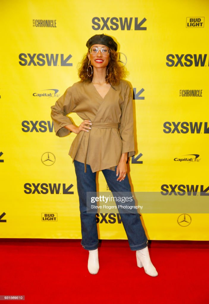 Elaine Welteroth attends TRIBE BUILDING 2.0: Engaging a Conscious Community Online & IRL during SXSW at Austin Convention Center on March 13, 2018 in Austin, Texas.