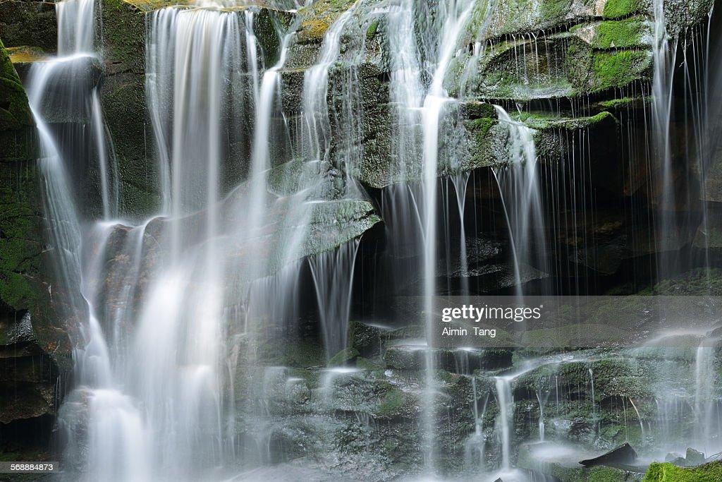 Elakala Falls at Blackwater Falls State Park : Stock Photo