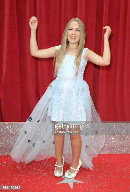 ElaMay Demircan attends the British Soap Awards 2018 at Hackney Empire on June 2 2018 in London England