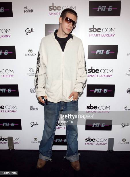Elan J Morrison attends Mi6 Nightclub Grand Opening Party on September 15 2009 in West Hollywood California