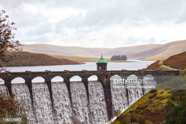 elan valley craig goch - reservoir stock pictures, royalty-free photos & images