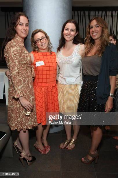 Elana Kaufman Amy Elliot Alison Rowe and Monica Cotto attend Jewelry Information Center Fine Jewelry Preview and Luncheon at Vermilion Restaurant on...