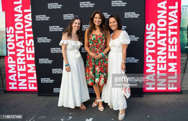 Elana Nathan Gigi Stone Woods and Alina Cho attend The Hamptons International Film Festival Showtime Presentation of a Special Screening Of The...