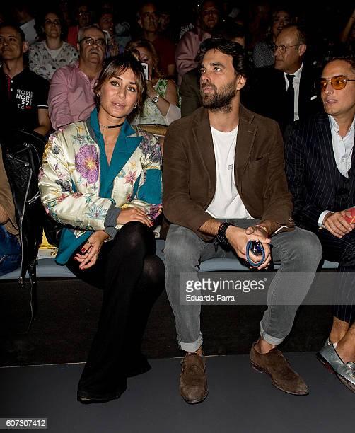 Elana Tablada is seen attending MercedesBenz Fashion Week Madrid Spring/Summer 2017 at Ifema on September 17 2016 in Madrid Spain