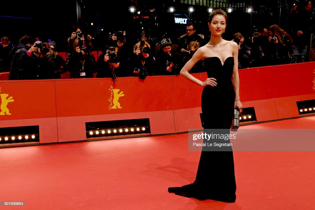 Elane Zhong Chuxi attends the 'Don't Worry, He Won't Get Far on Foot' premiere during the 68th Berlinale International Film Festival Berlin at Berlinale Palast on February 20, 2018 in Berlin, Germany.