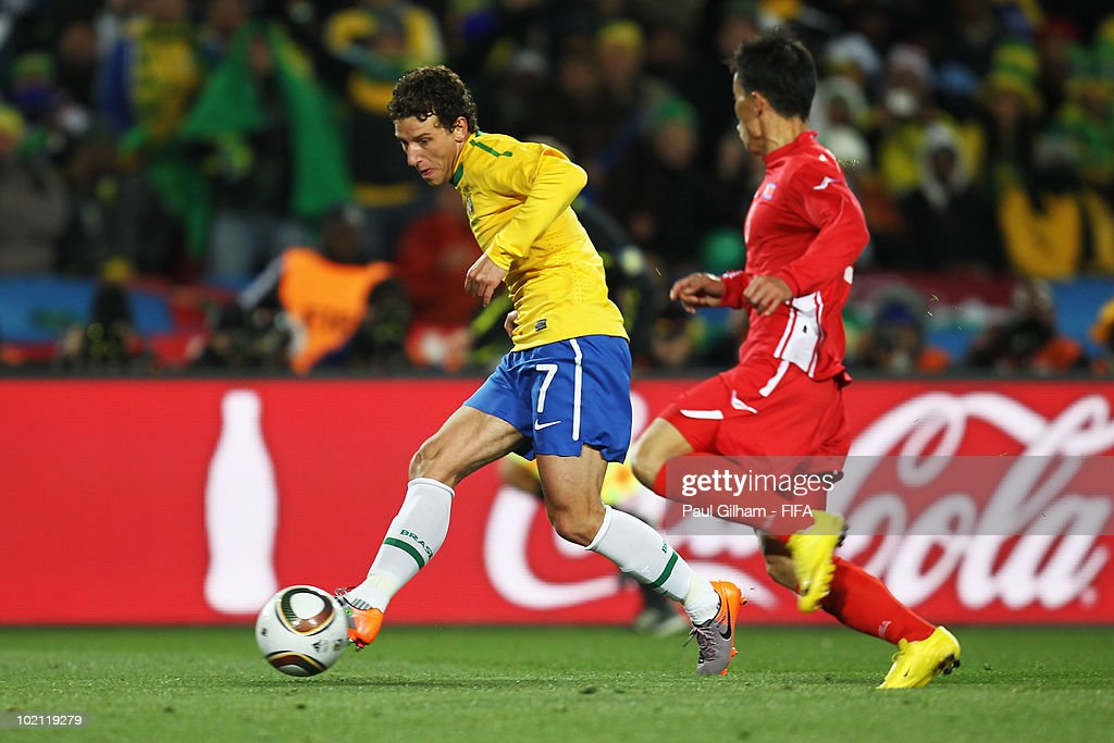 Brazil v North Korea: Group G - 2010 FIFA World Cup