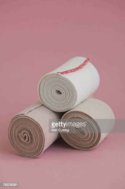 elastic bandages - elastic bandage stock photos and pictures