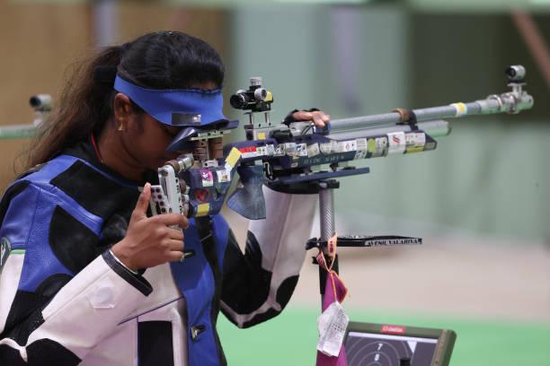 JPN: Shooting - Olympics: Day 1
