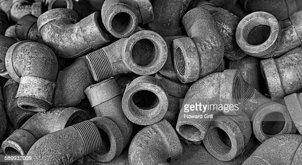 elbow pipes - howard braddock stock pictures, royalty-free photos & images