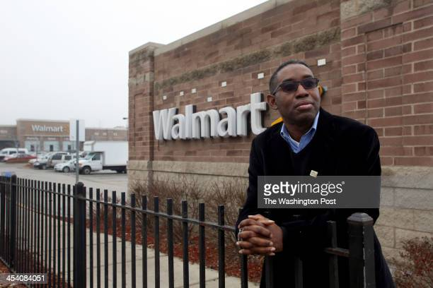 Elce Redmond of the South Austin Coalition is pictured at the Walmart store in the Austin neighborhood on the West Side of Chicago IL Tuesday...