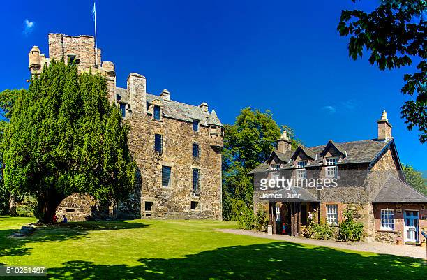 Elcho Castle near Perth Scotland is one of the best preserved 16thcentury tower houses in Scotland It was built in 1560 at the time of the Protestant...