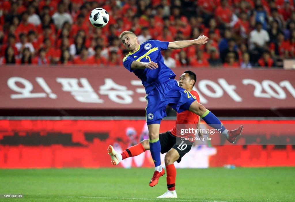 South Korea v Bosnia & Herzegovina - International Friendly