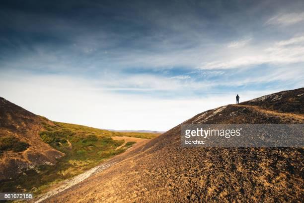 Eldborg Crater In Iceland
