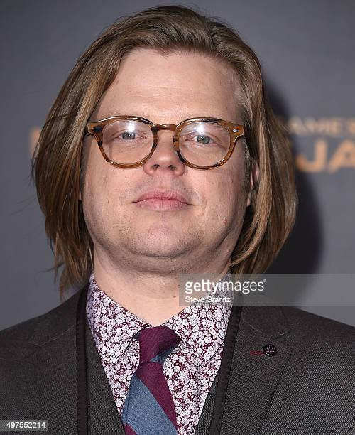 """Elden Henson arrives at the Premiere Of Lionsgate's """"The Hunger Games: Mockingjay - Part 2"""" at Microsoft Theater on November 16, 2015 in Los Angeles,..."""