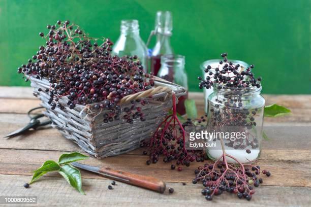 Elder berry juice