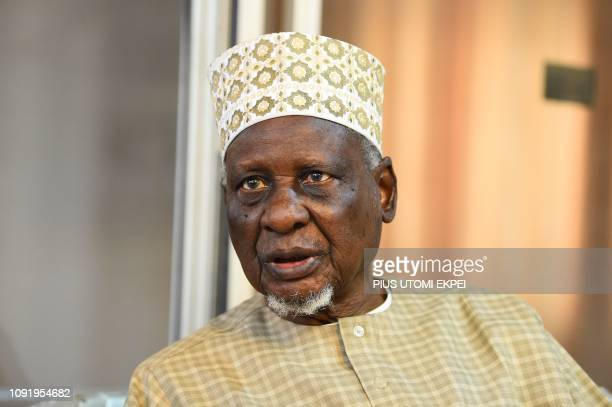 Elder statesman Tanko Yakasai speaks about the reelection bid of ruling All Progressives Congress party's candidate President Mohammadu Buhari in...