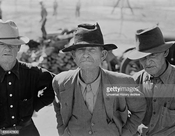 Elderly Ex-Tenant Farmers on Relief Grant, Imperial Valley, California, USA, Dorothea Lange for Farm Security Administration, March 1937.