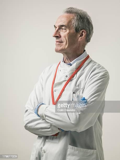 Elderly health care worker