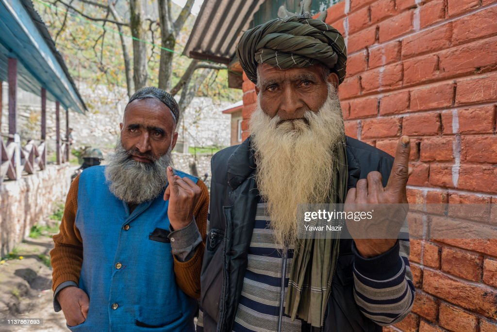 IND: Voters Head to The Polls For Second Phase Of Indian's Parliamentary Election In Trouble-Torn Kashmir