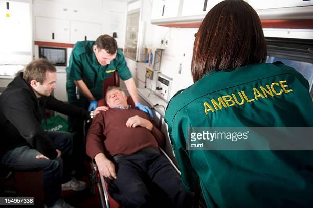 Elderly man injured