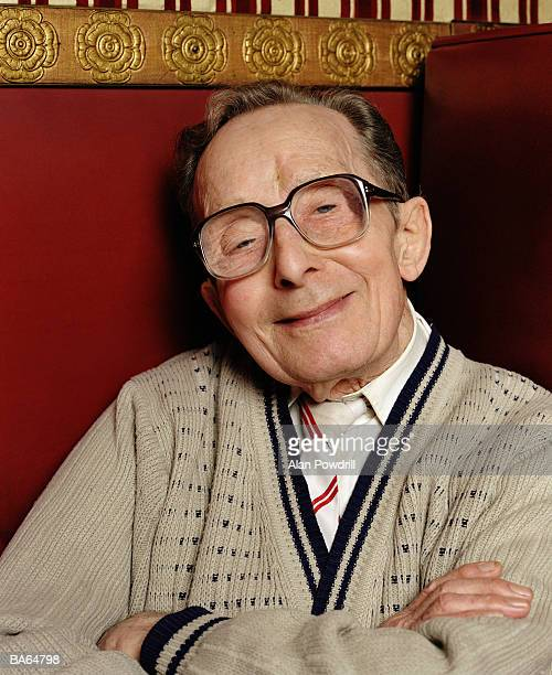 elderly man smiling, portrait, close-up - cardigan sweater stock pictures, royalty-free photos & images