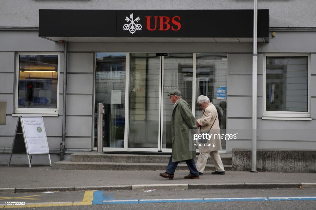 UBS Group AG Branches Ahead Of Earnings Results : News Photo