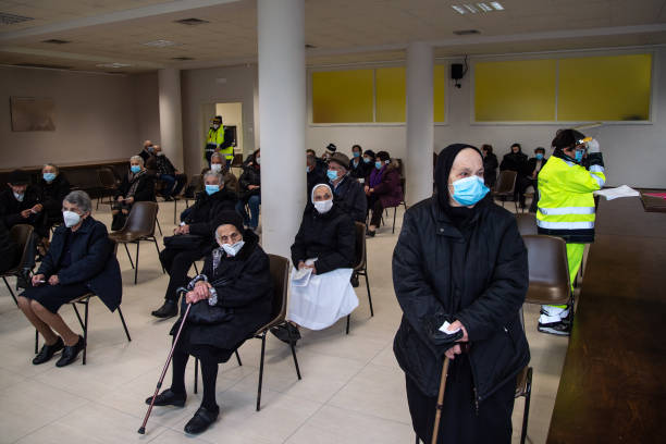 ITA: Pfizer Biontech Vaccinations In Salerno