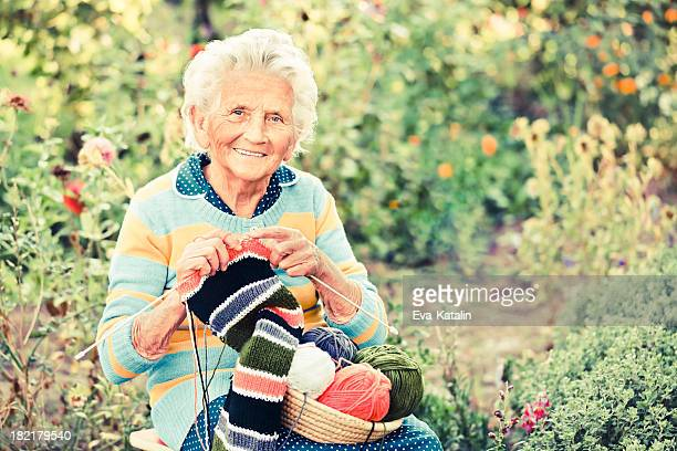 Elderly woman punto