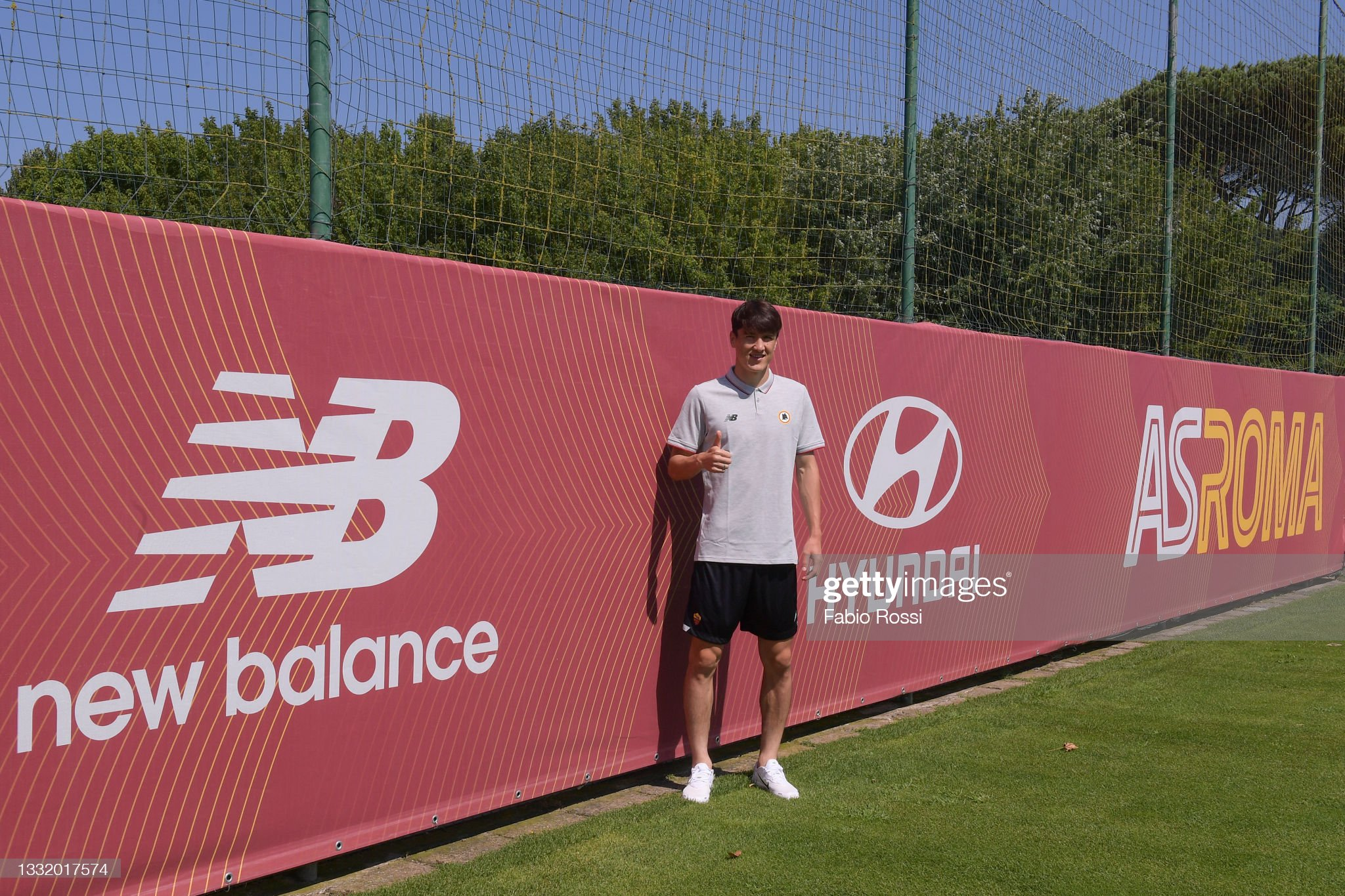 AS Roma Unveils New Signing Eldor Shomurodov : News Photo