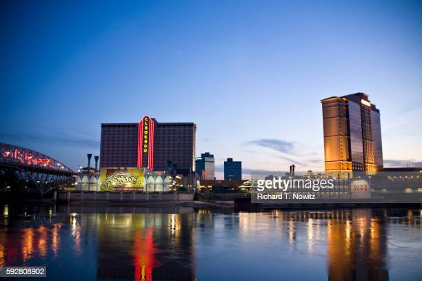 eldorado and sam's town casino boats - shreveport stock pictures, royalty-free photos & images